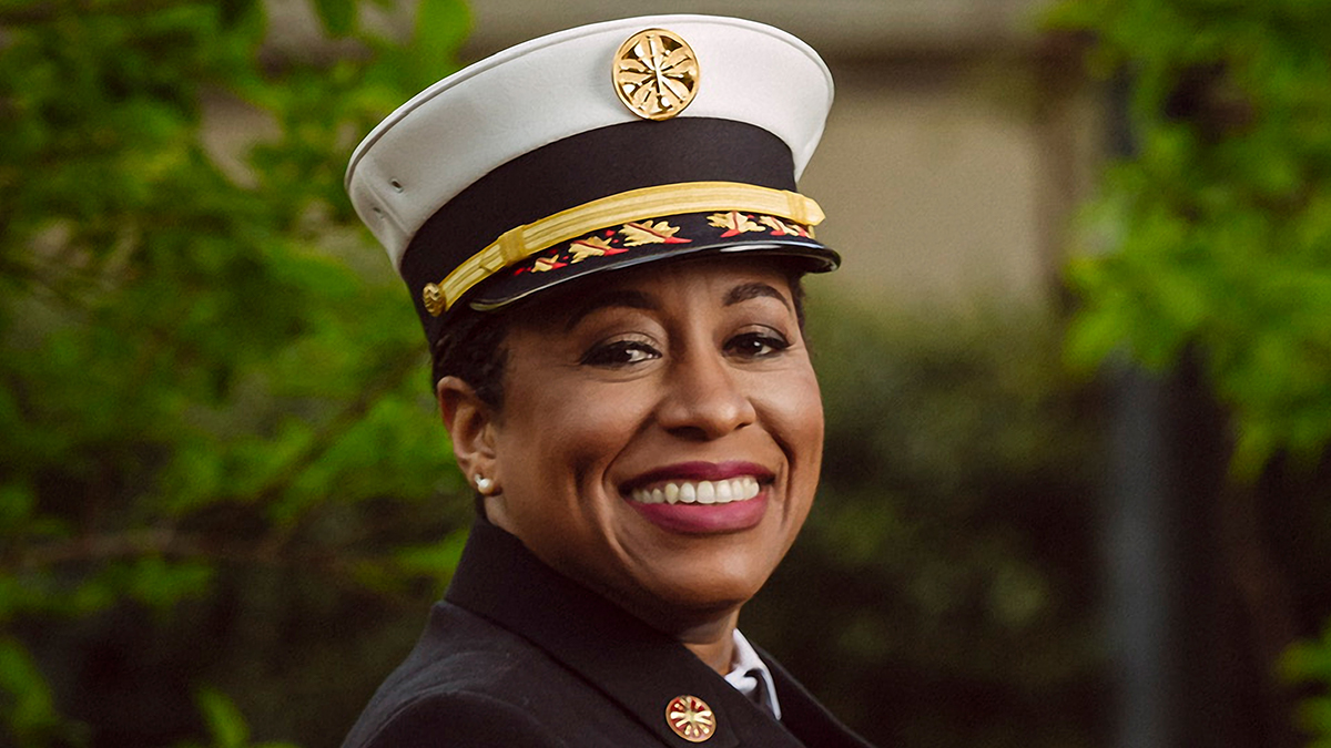 Chief Toni Washington Is Empowering Black Women In A Male Dominant Field